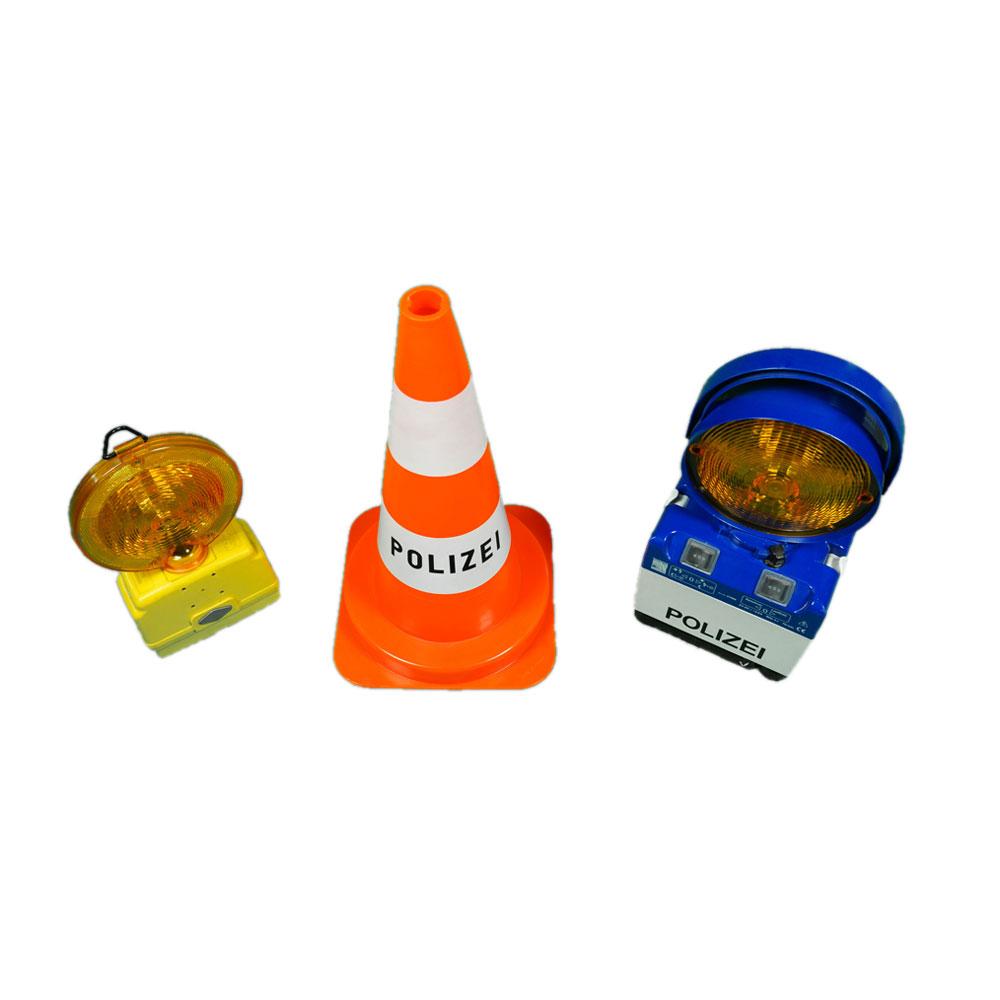 Requisiten zur Verkehrslenkung und Verkehrsüberwachung mieten