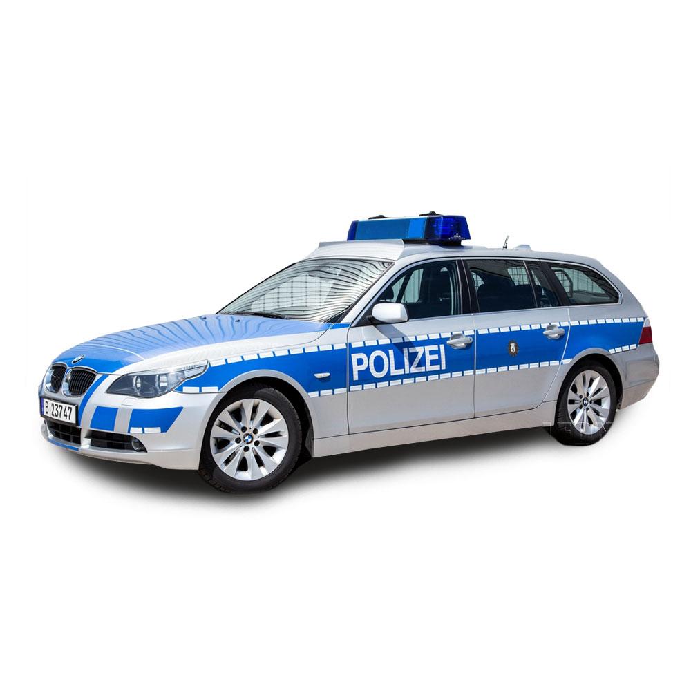 Polizeifahrzeuge mieten beim LEON ACTIONTEAM