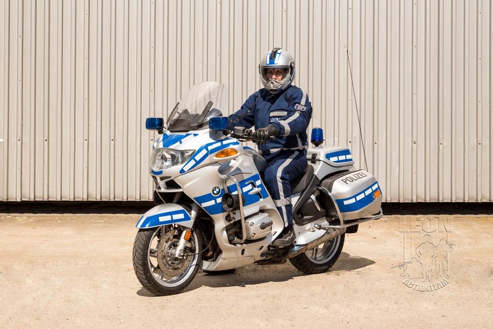 Polizeimotorad BMW R 1150 RT mieten beim Leon Actionteam