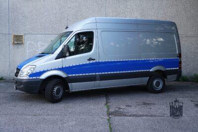 Fahrzeug für die Gerichtsmedizin, Polizei, Kriminaltechnik